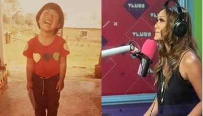 Yolanda Park mostró fotos de su infancia y aseguró: 'La felicidad no pasa por lo material'