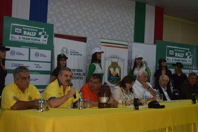 Itapúa apunta a mundial de rally