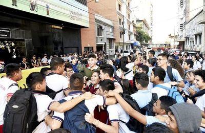 Los estudiantes reiteraron el pedido de renuncia de Petta