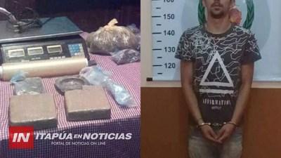 MICROTRAFICANTE DE DROGAS CONDENADO A 7 AÑOS DE CÁRCEL