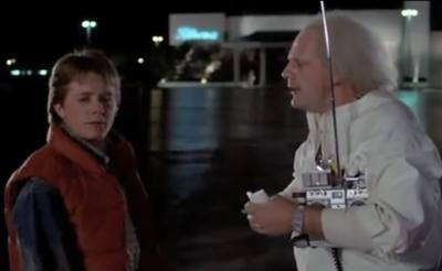 """Volver al futuro: se volvieron a juntar """"Marty McFly"""" y el """"Dr. Brown"""""""