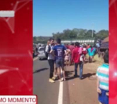 Accidente de tránsito en Curuguaty