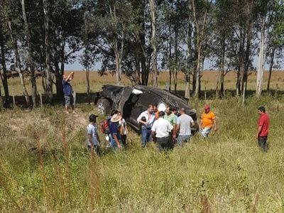 Diputado Soroka volcó en Misiones, sufrió heridas leves