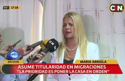 'Caso Ronaldinho': María Arriola asume titularidad en Migraciones