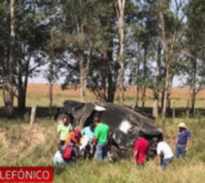 Diputado sufre accidente de tránsito en Villa Florida