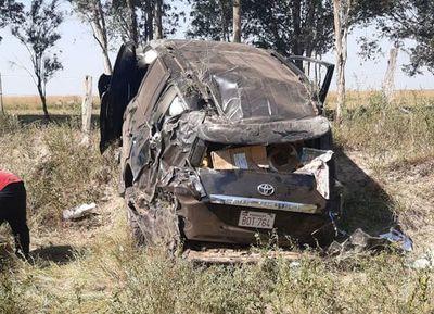 El diputado Soroka sufre un aparatoso accidente
