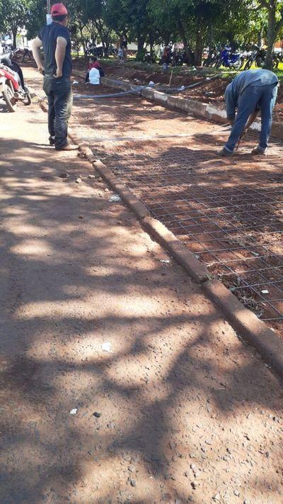 Cortan arboles de pino en el barrio Jardín Aurora y los vecinos se manifiestan