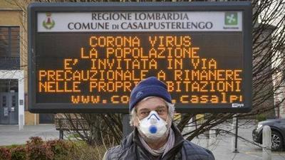 Cerrada Lombardía y 11 provincias de otras tres regiones italianas para contener el coronavirus