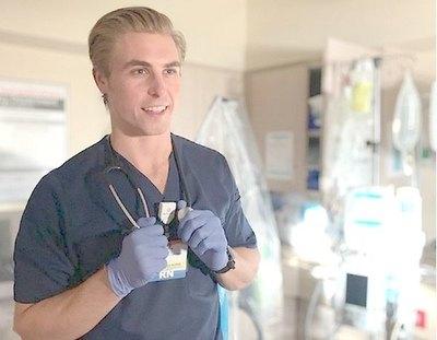 Enfermero fue elegido el más sexy del mundo
