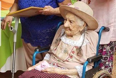 Abuelita sanjuanina cumple 108 años de vida