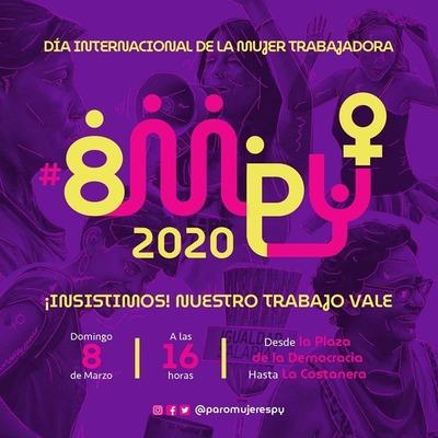 Mujeres se movilizan este 8M contra la precarización laboral