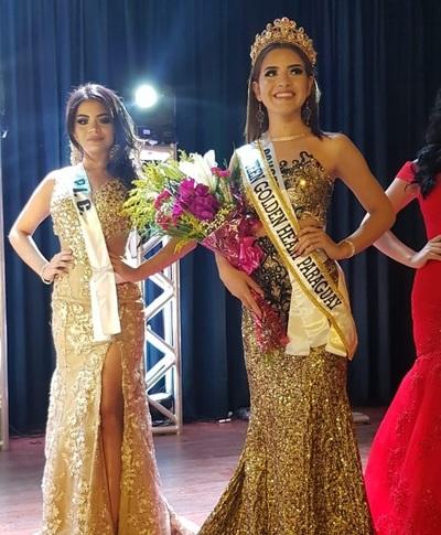 Hermosa concepcionera gana certamen de belleza y es Miss Teen Paraguay