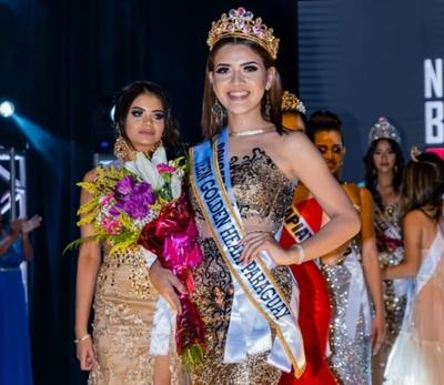 Hermosa concepcionera gana certamen de belleza y es Miss Teen Paraguay 2020