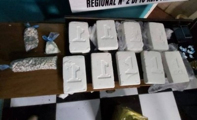 Detienen a un hombre con cocaína y crack