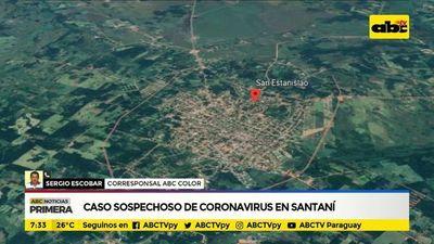 Caso sospechoso de coronavirus en Santaní