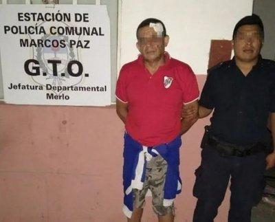 Con un tiro de rifle asesinó a su hijo: peleaban por una casa