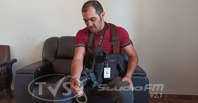 Marinos retienen y golpean a fotógrafo de La Nación en CDE