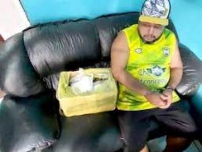 Allanamiento permite incautar más de 9 kilos de cocaína en Presidente Franco