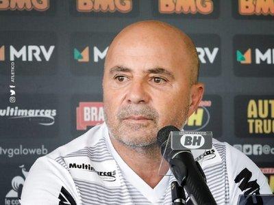 """Sampaoli quiere impresionar al Mineiro con su estilo: """"No es ganar por ganar"""""""