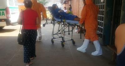 Caso sospechoso de coronavirus en San Lorenzo