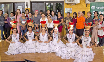 » Agrofértil celebró el día de la mujer paraguaya entregando donaciones
