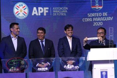 Esta listo el calendario de la Copa Paraguay