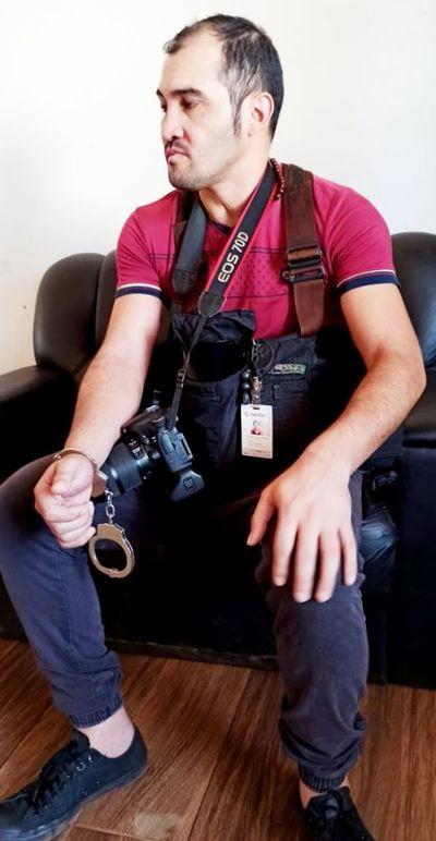 Reportero gráfico fue agredido por aduanero y varios militares