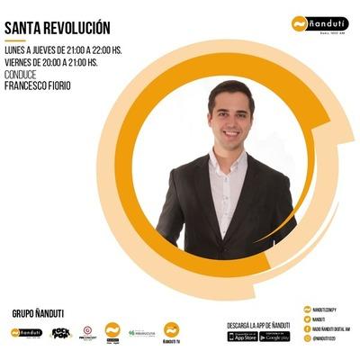 Santa Revolución Weekend con Francesco Fiorio