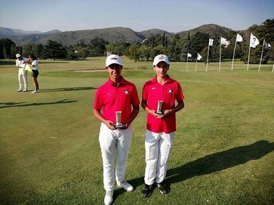 Destacada actuación de golfistas paraguayos en Argentina