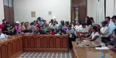 Sintechos llegan hasta la Junta Municipal