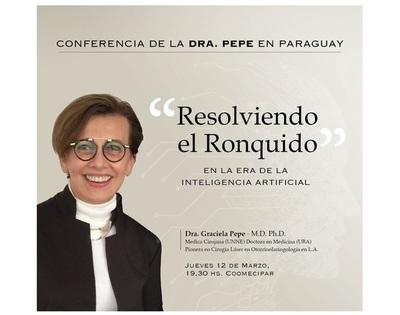 Master en Otorrinolaringología ofrecerá conferencia sobre eliminación del ronquido