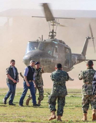 Empresaria que trajo a Ronaldinho usó helicóptero más caro que Marito