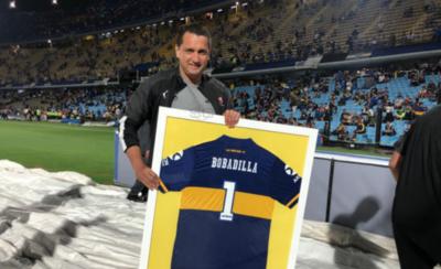 HOY / Reconocen a Aldo Bobadilla por su pasado en Boca