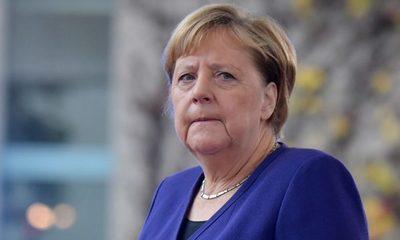 Angela Merkel calcula que un 70% de los alemanes se infectará de coronavirus
