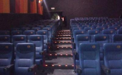 No habrá funciones en las salas de cine por 15 días
