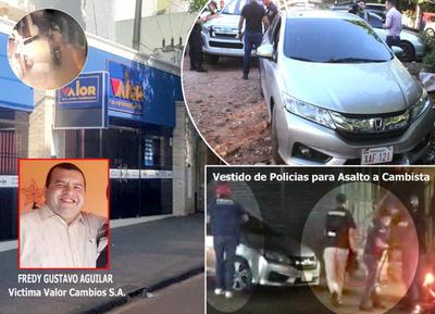 """Dos asaltos multimillonarios con """"bendición"""" policial en pleno centro de Ciudad del Este"""