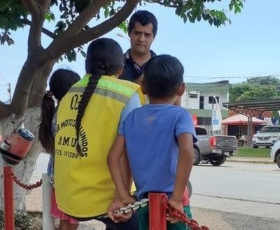 Ministerio de la Niñez intensifica su presencia con trabajos de abordaje en calle
