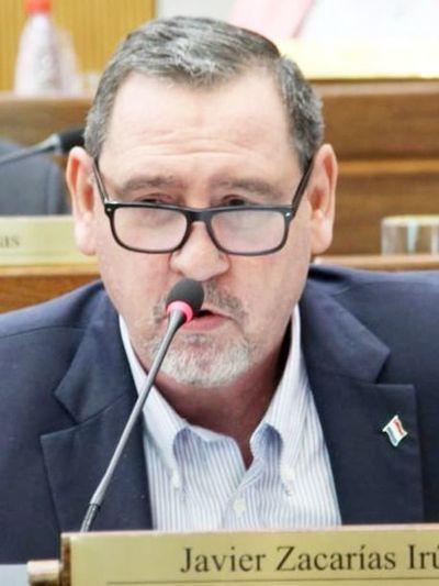 Senado pospone tratar el desafuero de Javier Zacarías
