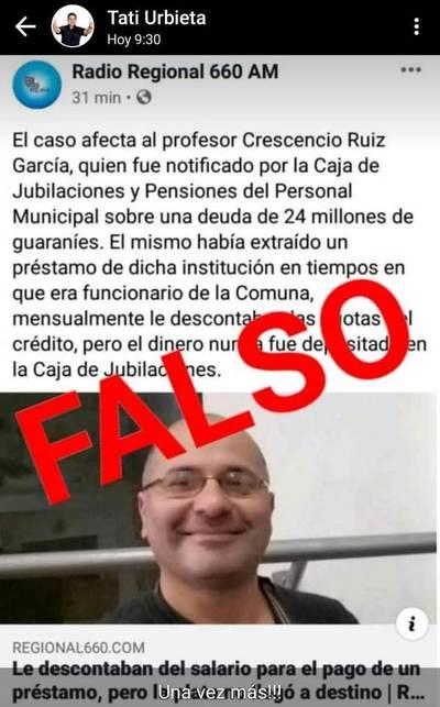 ¿Quién miente?: con comunicado poco serio, Municipalidad pretende desacreditar publicación periodística