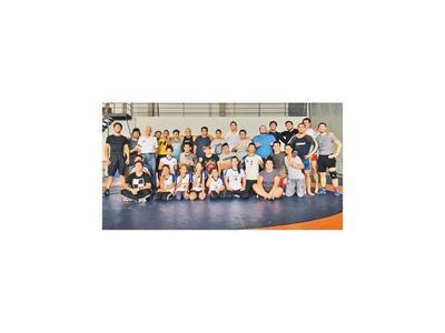 Lucha  olímpica  en SND