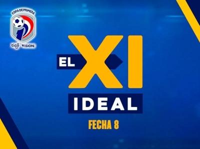 Equilibrio y mucho gol en el equipo ideal de la fecha 8 del Apertura 2020