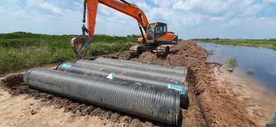 Ante quejas por camino intransitable, Pdte. de la Comisión del Río Pilcomayo informa sobre obras de mantenimiento