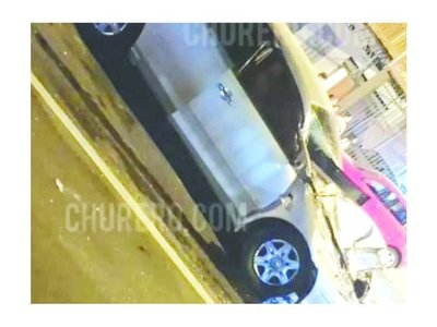 Fátima sufrió un aparatoso accidente