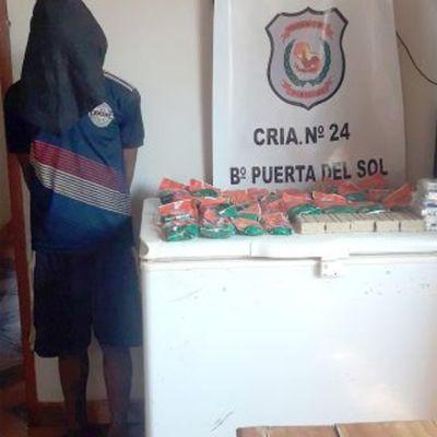 Dos detenidos tras hurtar productos de limpieza
