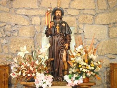 San Roque es el elegido para rezar por el corona