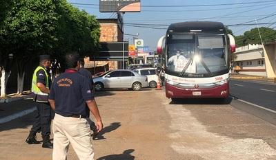 Coronavirus: 12 empresa multadas por Dinatran por incumplir medidas.