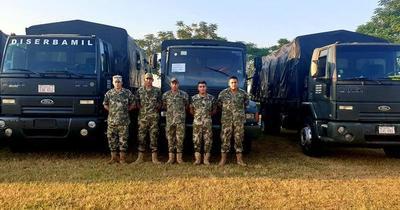 Buses militares saldrán desde el lunes para transportar pasajeros