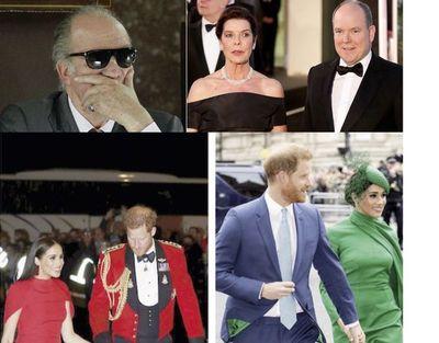 """Un rey """"regalón"""", un baile suspendido y el glam de los Sussex"""