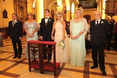 El enlace matrimonial de Pamela y Carlos