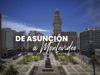 De Asunción a Montevideo